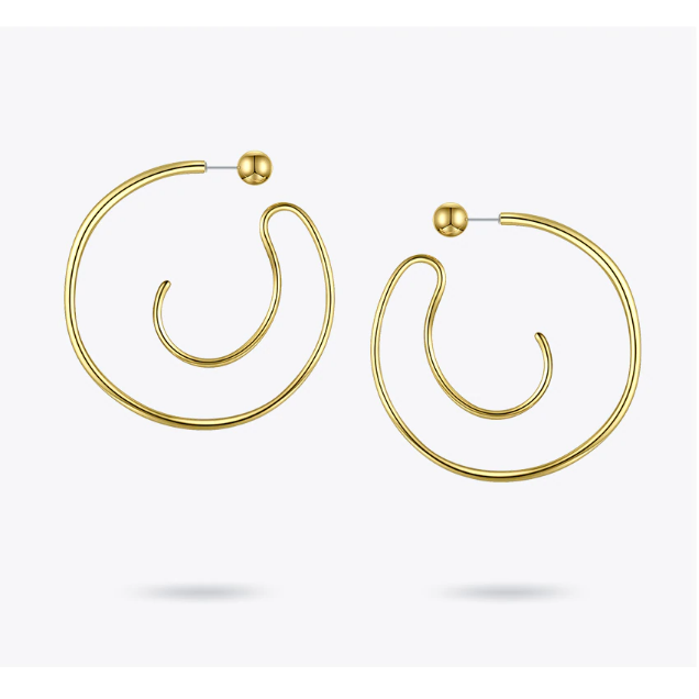 Onisa Spiral Earrings