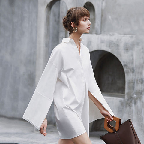Zuma Long Shirt Dress
