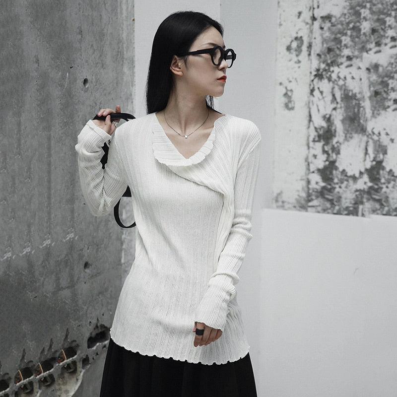 Hira Cowl Neck Top
