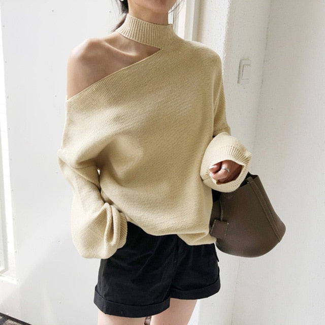 Belle Off-shoulder Sweater
