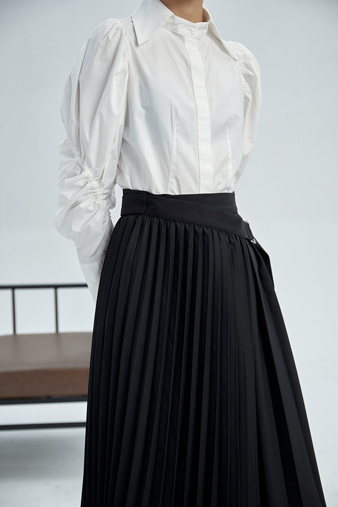 Ava Pleated Skirt
