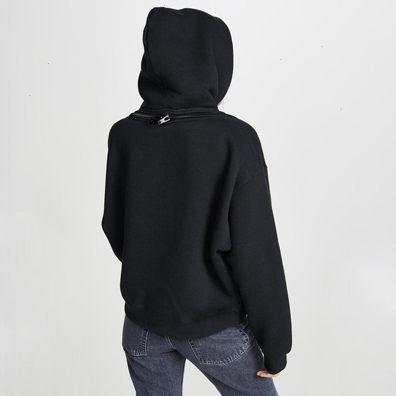 Koco Hooded Zipper Sweatshirt