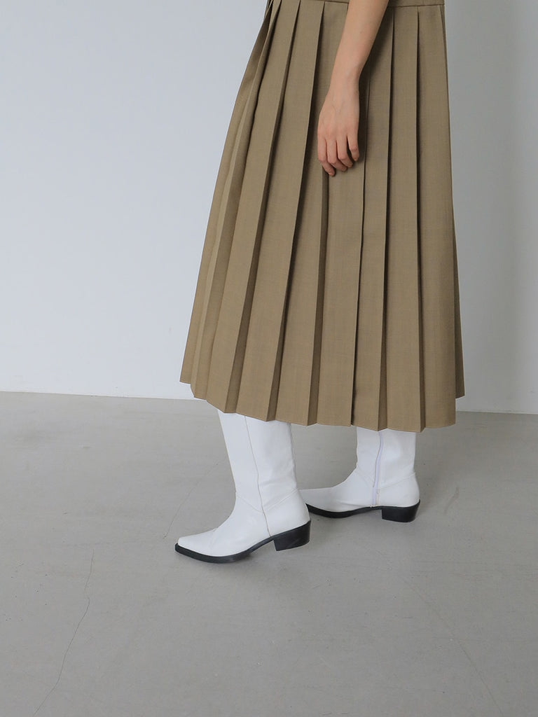 Ingrid Pleated Dress