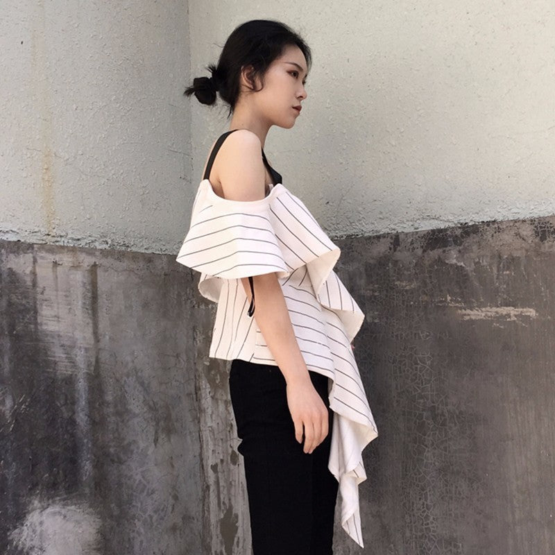 Saleha Ruffle Top