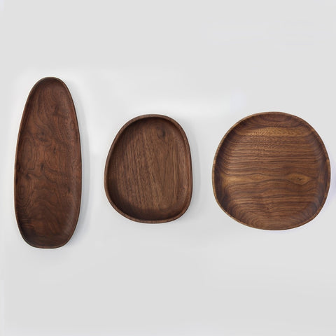 Tenzin Assorted Wooden Plates