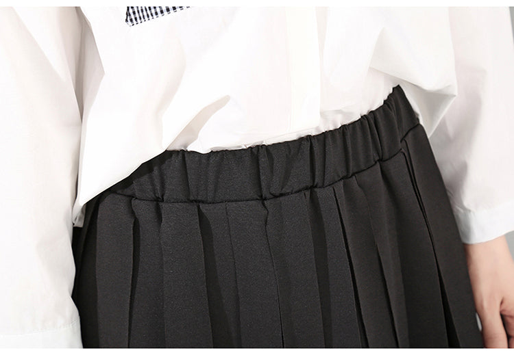 Dahyun Skirt with Strips