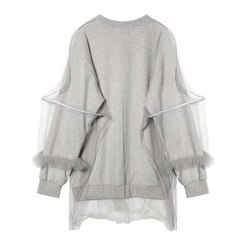 Gilda Sweatshirt with Tulle