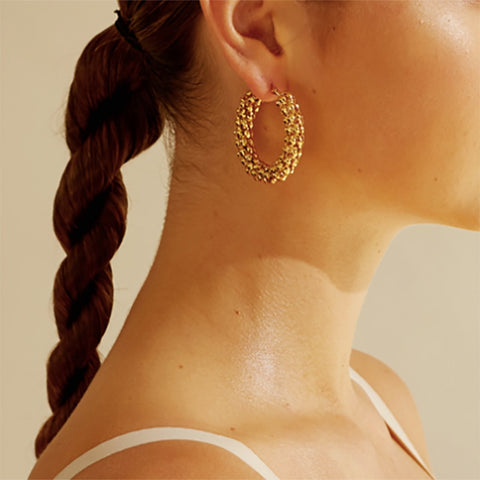 Angeli Hoop Earrings