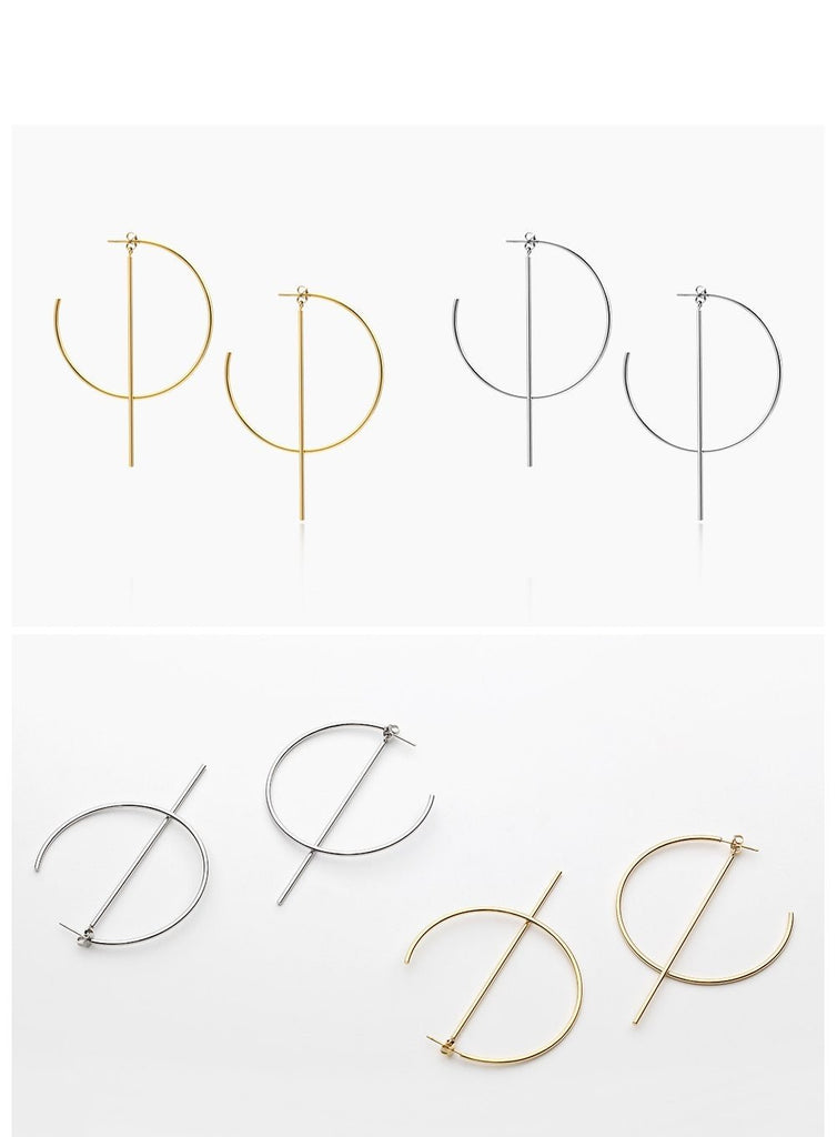 Rika Geometric Earrings