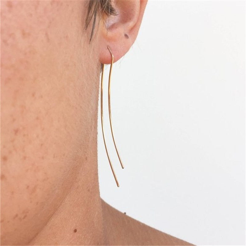Silas Longline Handmade Earrings