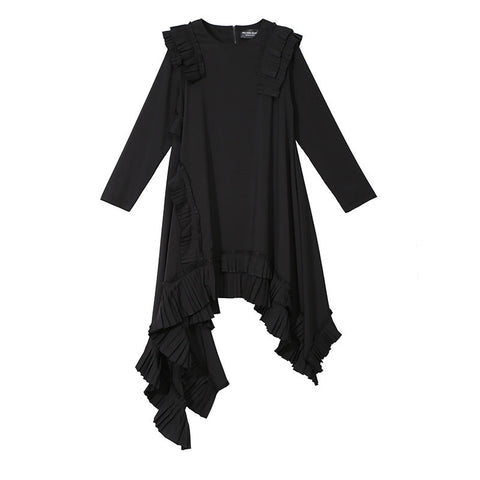Kyu Ruffle Dress
