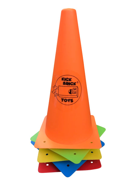 Play traffic cones for kids