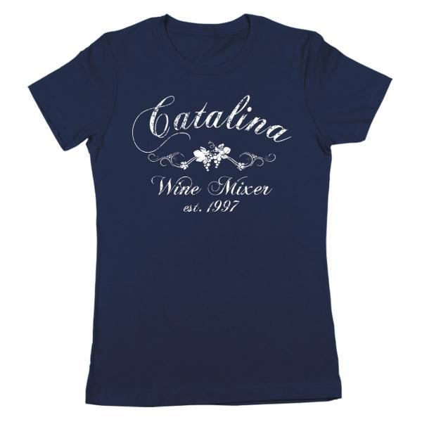 The Catalina Wine Mixer Women's Fit T-Shirt - Coffee Before Wine