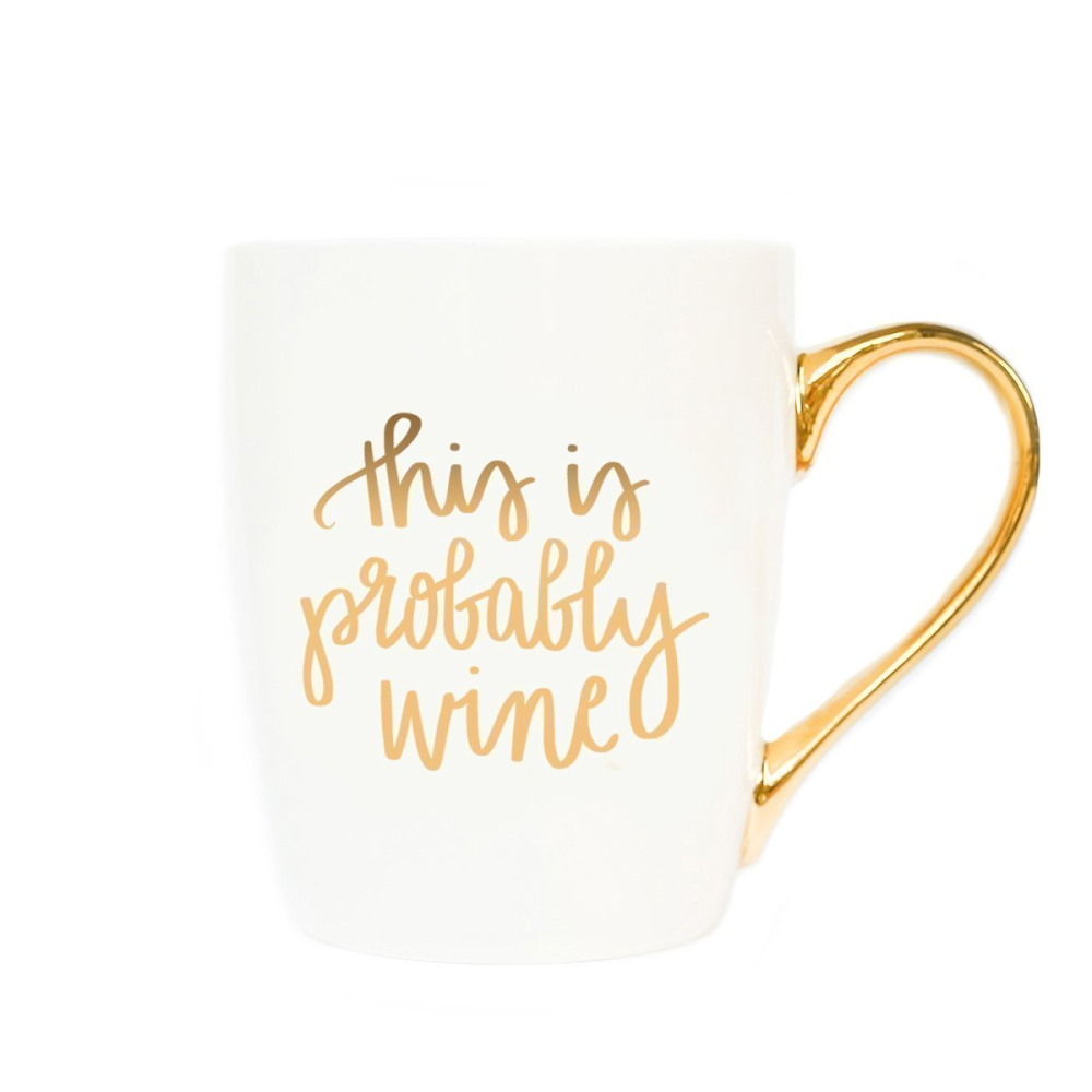 This is Probably Wine Coffee Mug - Coffee Before Wine