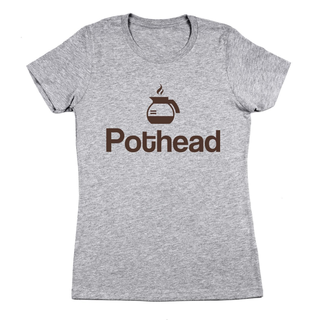 Pot Head Coffee Women's Fit T-Shirt - Coffee Before Wine
