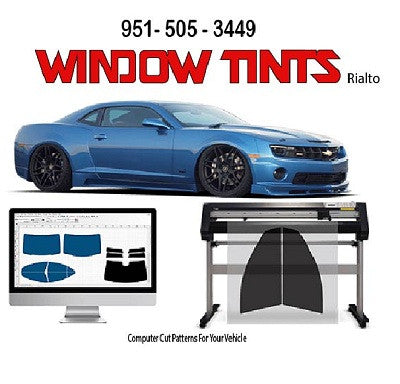 Rayno Window Film, Phantom S5, Window Tints,Rialto,