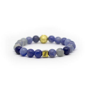 Blue Adventure Natural Stone Bracelet - Shop Canaria