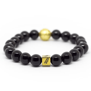 Black Onyx Natural Stone Bracelet - Shop Canaria