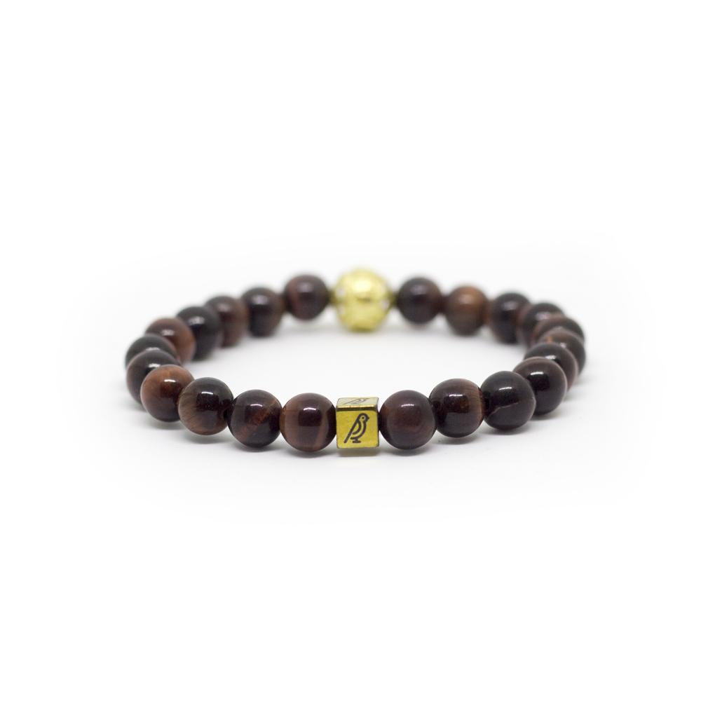 Red Tigers Eye Bracelet - Canaria