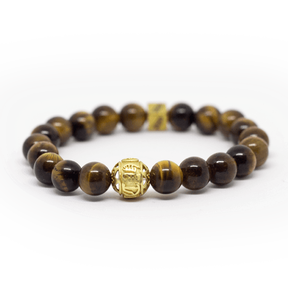 Tigers Eye Natural Stone Bracelet - Canaria