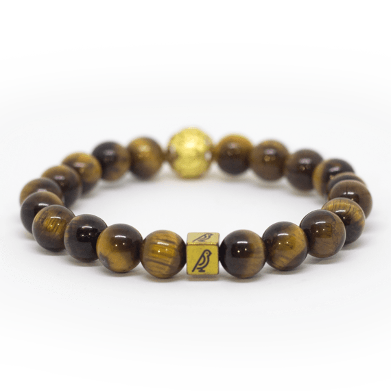 Tigers Eye Natural Stone Bracelet - Shop Canaria
