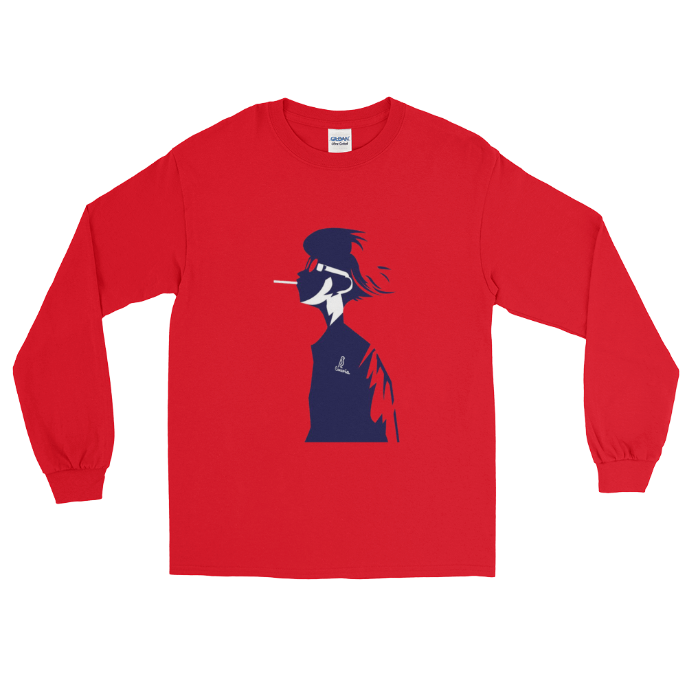 Smoker Long Sleeve T-Shirt - Canaria