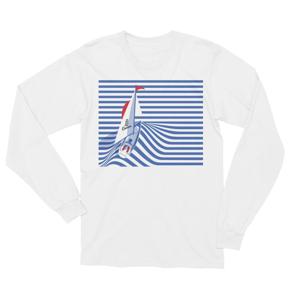 Sailor Unisex Long Sleeve T-Shirt - Canaria