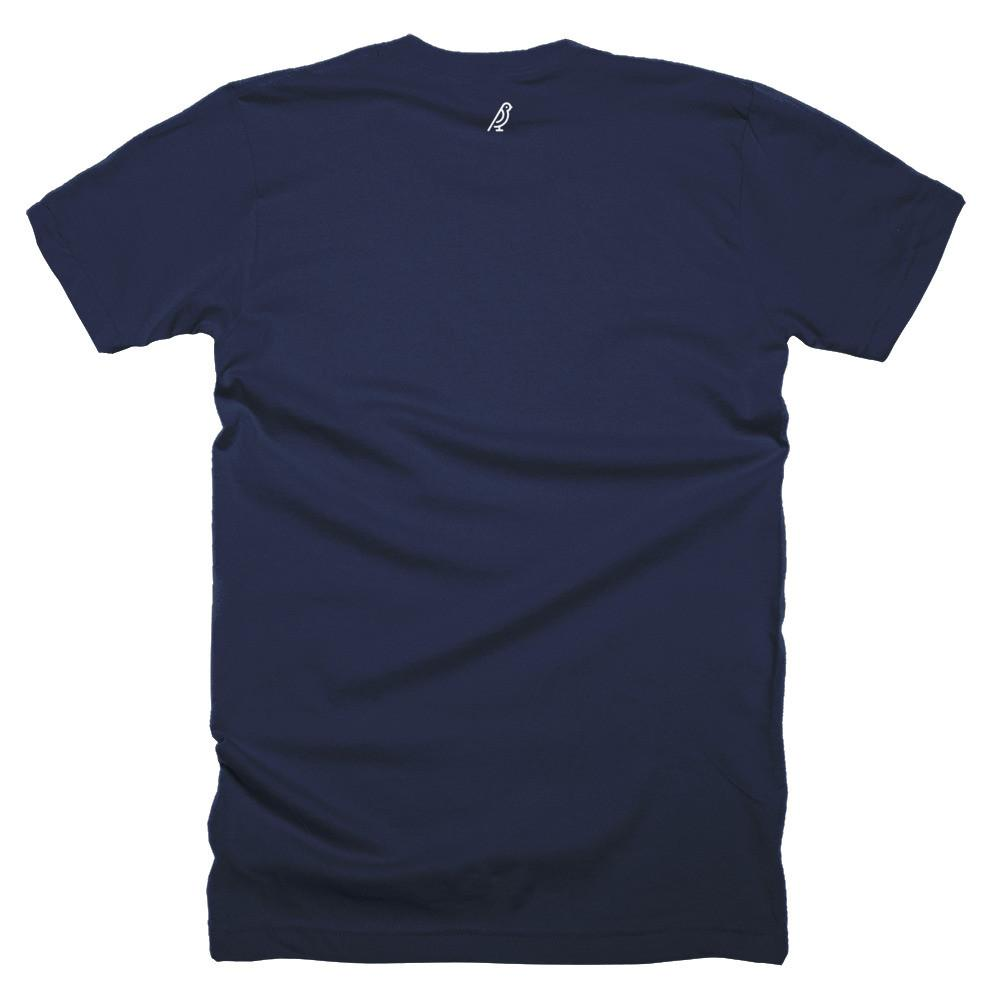 Cursive Short Sleeve Men's T-Shirt - Canaria
