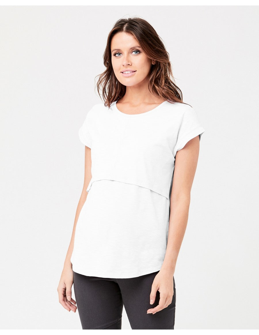 Richie Nursing Tee White