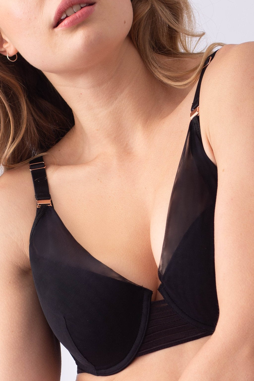Ambition Plunge Contour Nursing Bra by Hotmilk