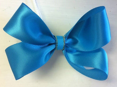 Blue Small Bow