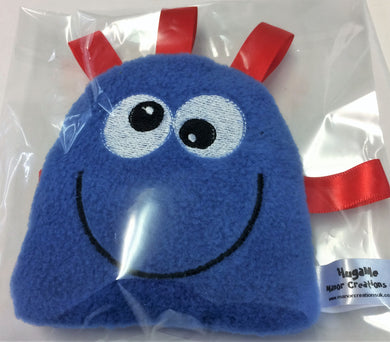 HugaMe Pocket friend taggy toy soft fleece