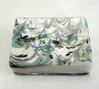 Handcrafted Mojito soap (no palm oil)