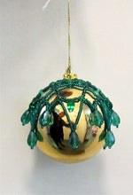 Beautiful handcrafted Christmas beaded baubles