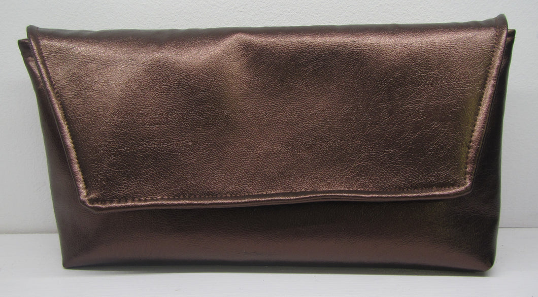 Beautiful handcrafted bronze clutch bag