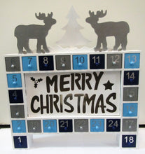 Beautiful handcrafted wooden LED Christmas advent calendar