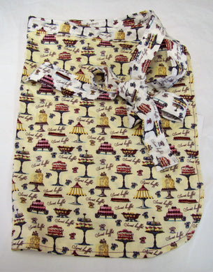 Beautiful handcrafted adults half aprons various patterns