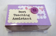 Handcrafted beautiful teacher little boxes of happiness