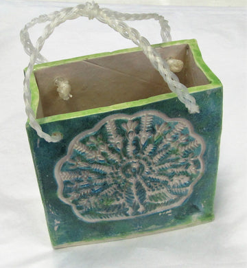 Handcrafted beautiful ceramic bags