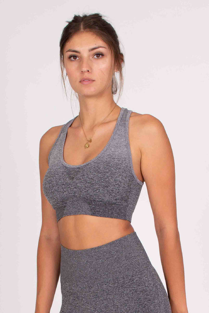 Gradient Bra - Slate Grey