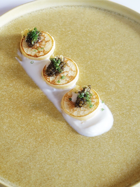 Caviar & Blini Box (Traditional Style)