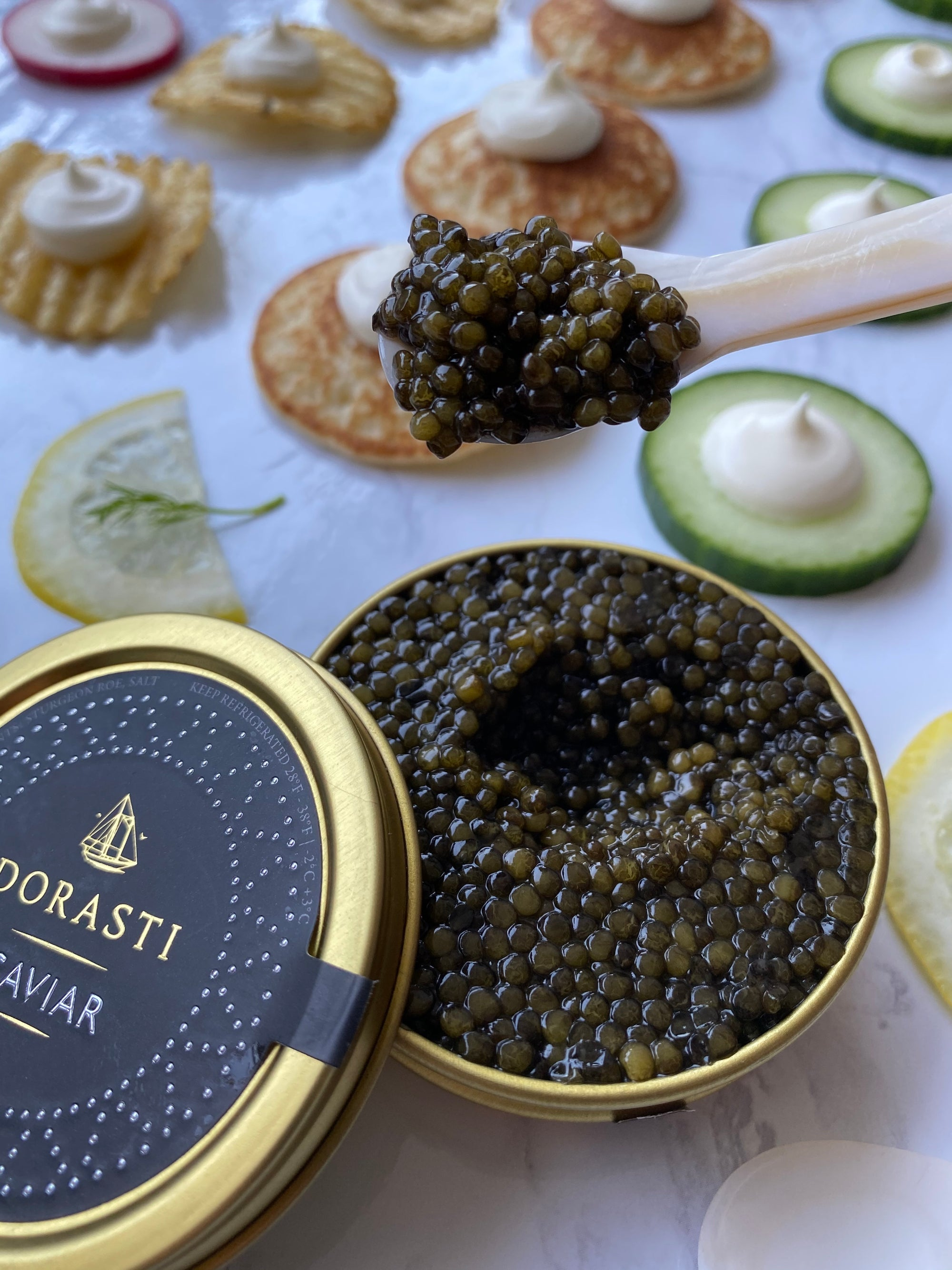 Caviar, Avocado Toast
