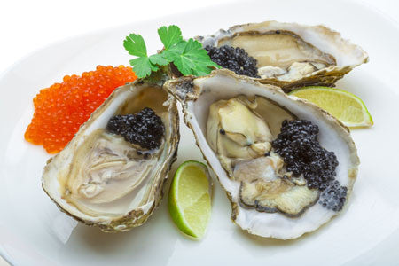 Oysters Caviar and Bubbles Recipe