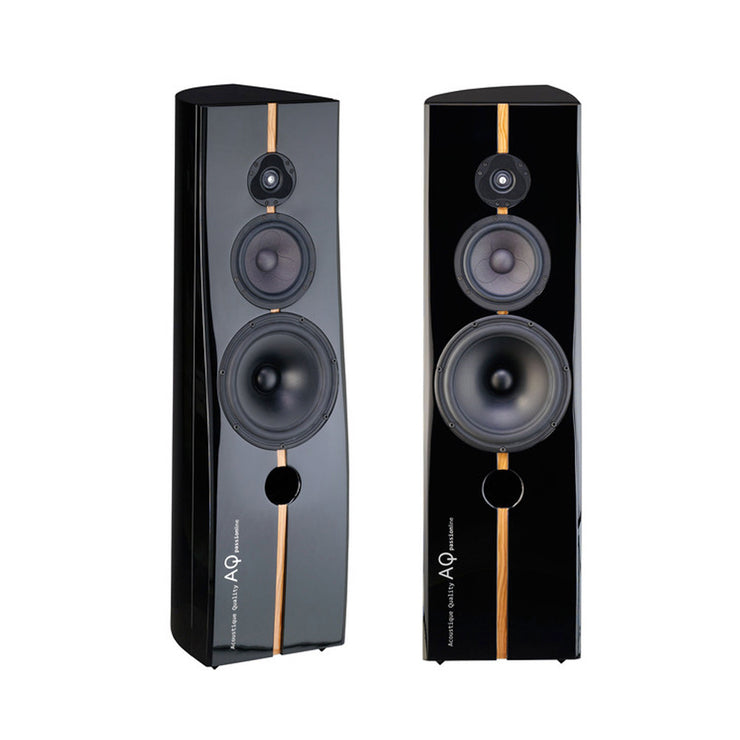 Acoustique Quality Passion Audiophile Stereo Floorstanding Speakers - Audio Influence Australia