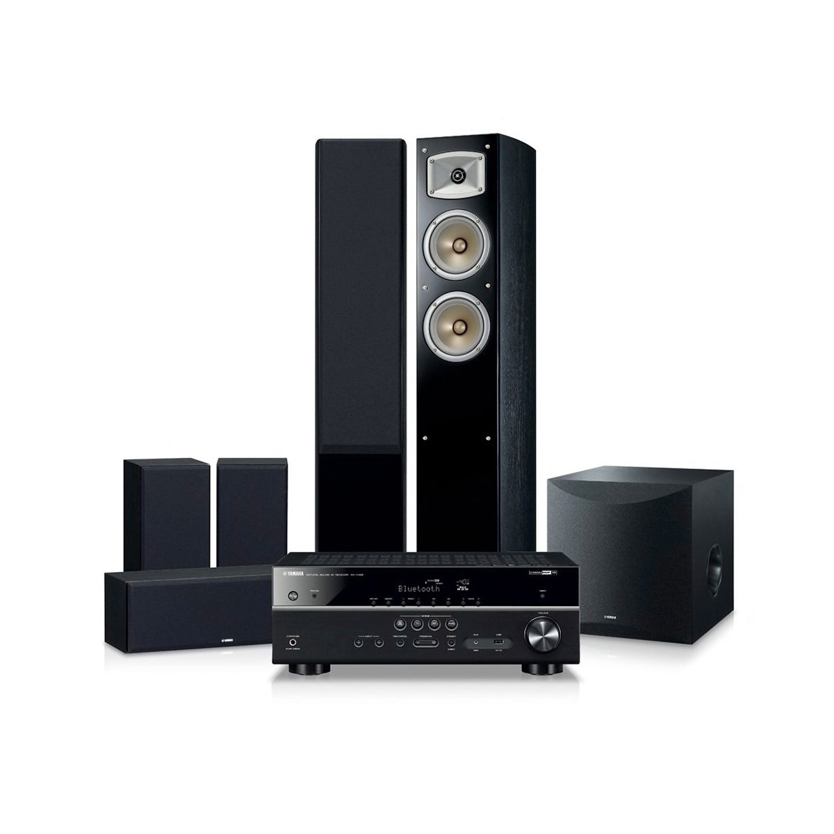 Yamaha Blockbuster 5500 Home Theatre System