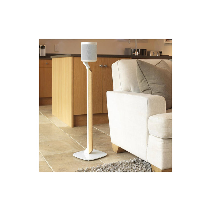 Flexson premium floor stand for sonos play  one single - Audio Influence Australia 4
