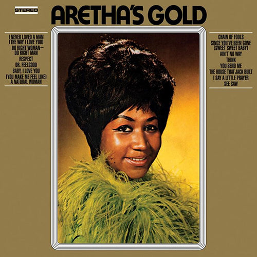 Aretha Franklin - Aretha's Gold LP record - Audio Influence