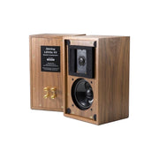 Stirling Broadcast LS3/5 V2 Audio Speakers In Walnut