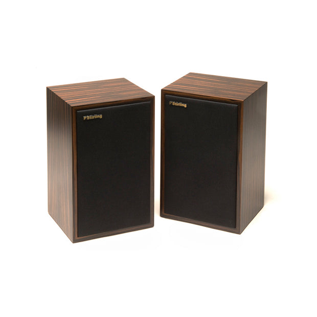 Stirling Broadcast LS3/5 V2 Audio Speakers In Ebony