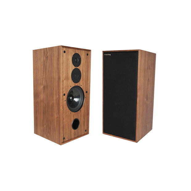 Stirling Broadcast LS3/6 V3 Reference Audio Speakers In Walnut